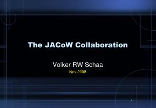 The JACoW Collaboration