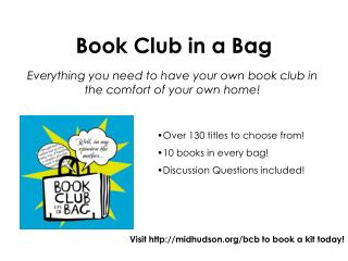 Book Club in a Bag
