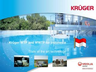 Kr ger WTP and WWTP for Indonesia