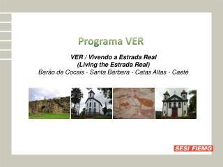 Programa VER