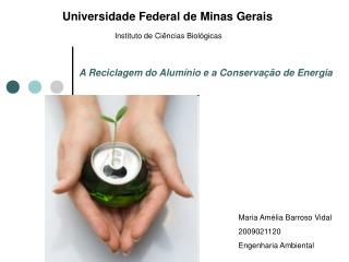 A Reciclagem do Alum�nio e a Conserva��o de Energia