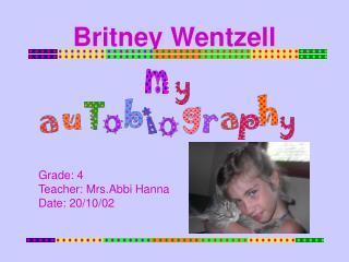 Britney Wentzell