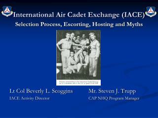 International Air Cadet Exchange IACE