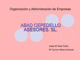 Organizaci�n y Administraci�n de Empresas