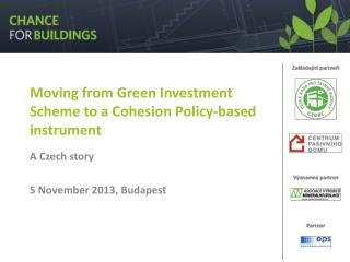 Moving from Green Investment Scheme to a Cohesion Policy-based instrument