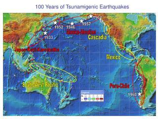 100 Years of Tsunamigenic Earthquakes