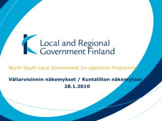North-South Local Government Co-operation Programme