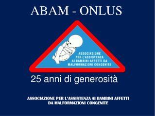 ABAM - ONLUS