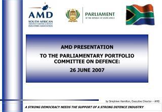 by Simphiwe Hamilton, Executive Director – AMD
