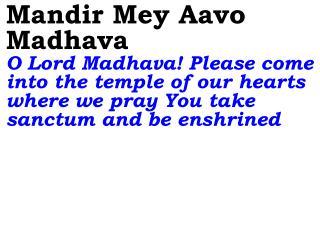 Aadi Narayana Aananda Sai