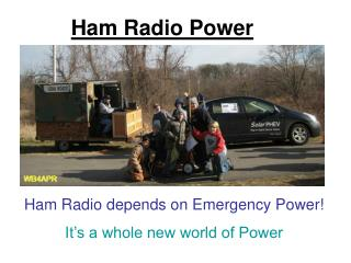 Ham Radio Power
