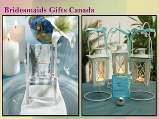 Bridesmaids Gifts Canada