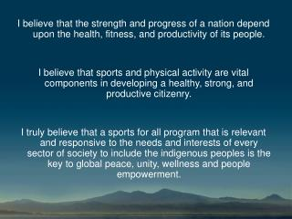 PROF. HENRY C. DAUT Faculty, College of Sports, Physical Education and Recreation