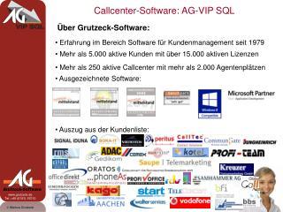 Über Grutzeck-Software: