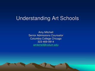 Understanding Art Schools