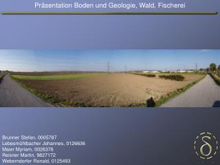 Präsentation Boden und Geologie, Wald, Fischerei