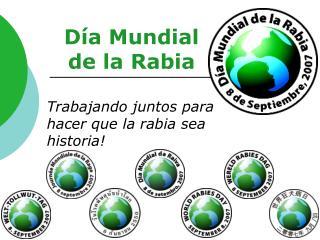 Día Mundial  de la Rabia