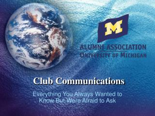 Club Communications