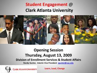 Student Engagement  @ Clark Atlanta University