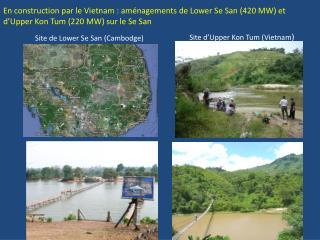 Site de Lower Se San (Cambodge)