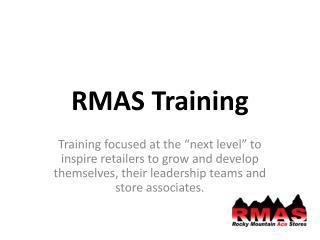 RMAS Training