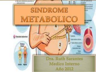 Dra. Ruth Sarantes Medico Interno Año 2012