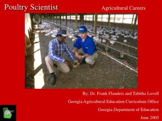 Poultry Scientist Agricultural Careers