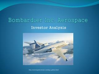 Bombardier Inc. Aerospace