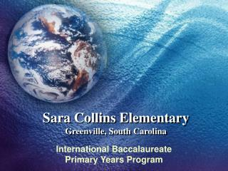 Sara Collins Elementary Greenville, South Carolina