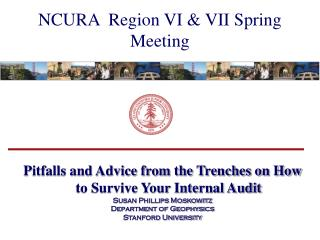 NCURA  Region VI & VII Spring Meeting