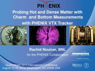 Probing Hot and Dense Matter with  Charm  and Bottom Measurements  with PHENIX VTX Tracker