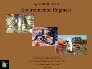 Agricultural Careers Environmental Engineer
