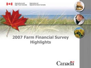 2007 Farm Financial Survey Highlights