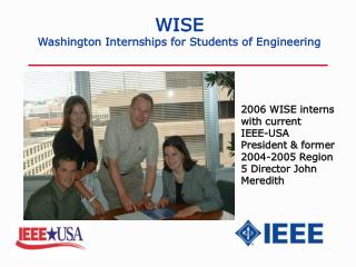 WISE Washington Internships for Students of Engineering