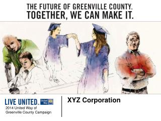 2014 United Way of  Greenville County Campaign
