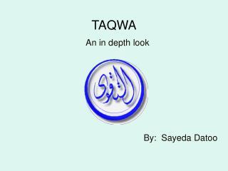 TAQWA