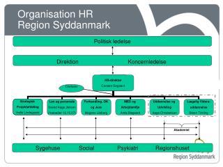 Organisation HR  Region Syddanmark