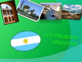 Les  presento  argentina