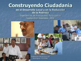 30 municipios realizaron Presupuesto Participativo en 3 meses
