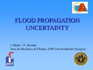 FLOOD PROPAGATION UNCERTAINTY