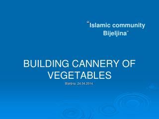 """"""" Islamic community  Bijeljina """""""