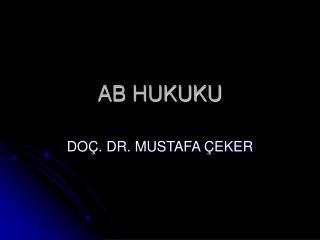 AB HUKUKU