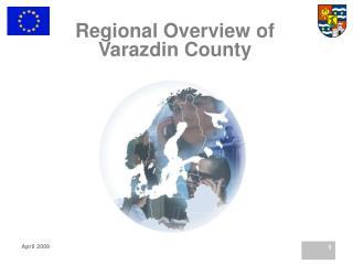Regional Overview of Varazdin County
