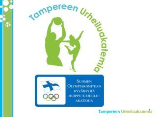 Tampereen urheiluakatemia 2008-