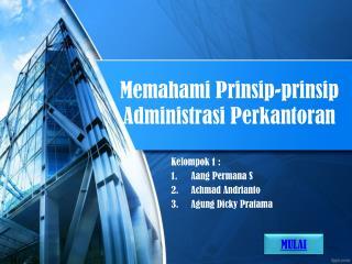 Memahami Prinsip-prinsip Administrasi Perkantoran