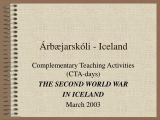 rb jarsk li - Iceland