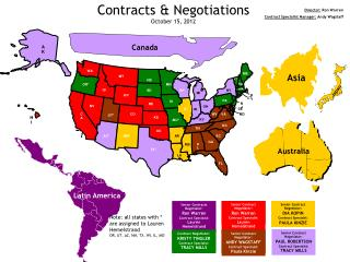 Contracts & Negotiations October 15, 2012
