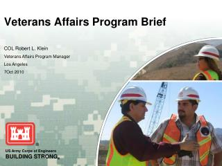 Veterans Affairs Program Brief