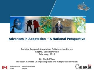 Advances in Adaptation – A National Perspective