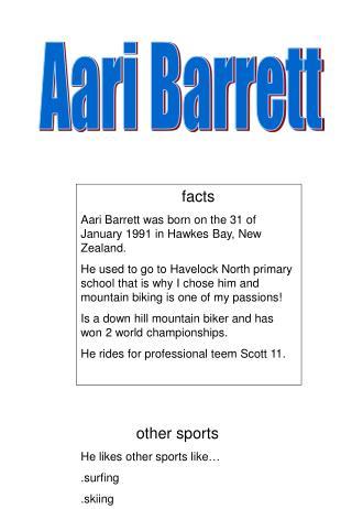 Aari Barrett